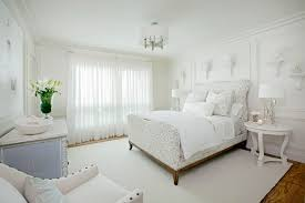 Beautiful White Bedroom Decorating Ideas Interior