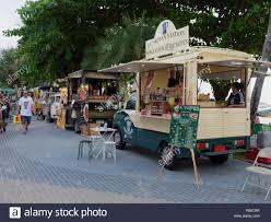 100 Dessert Trucks PATTAYA THAILAND MAY 8 2018 Food Trucks Are Selling Food And