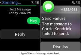 Apple watch won t send iMessage – Solved Send Reply