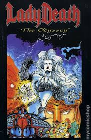 Lady Death The Odyssey TPB 1997 Chaos 1 1ST