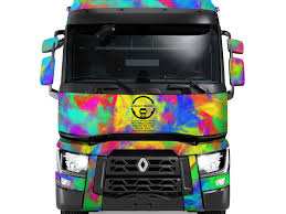 100 Truck Designer Renault S UK Design A Livery Competition Alex Greenhead