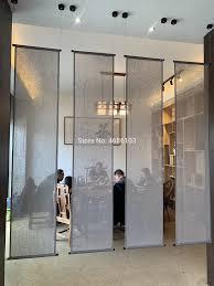 marke neue japanische leinen stoff vorhang jalousien zen vorraum bildschirm partition vorhang für wohnzimmer schlafzimmer teestube