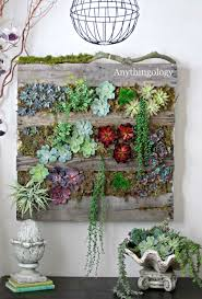 Anythingology Vertical Pallet Garden Update I Am Thinking This Would Be Neat On The Side