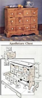 build chest of drawers furniture plans and projects