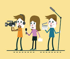 Journalist News Reporter Interview With And Interviewer