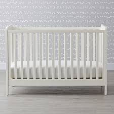 Topside Glaze Crib White... By Land Of Nod | Havenly Nursery Fniture Collections Baby Pottery Barn Kids Blankets Swaddlings Cribs Made In As Well Creations Angelina Collection Convertible Crib Nurserybaby White Dresser Chaing Table Black Combo Ccinelleshowcom Weathered Elite 4 1 And Changer Pottery Barn Babies And Design Inspiration Larkin 4in1 With Water Base Finish Our Little Girls Atlanta Georgia Wedding Photographer Guardrail