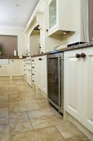 Kitchen Floor Tile Ideas With White Cabinets Flooring Light Wood