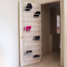Medicine Cabinet Organizer Walmart by Lavish Home Over The Door Shoe Rack Organizer Fits 36 Shoes