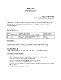 Example Of Technical Skills On Resume Abilities