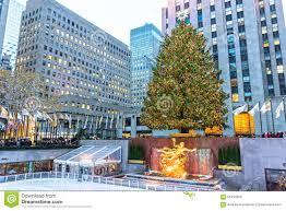 Christmas Tree Rockefeller Center Live Cam by Rockefeller Center Scene Editorial Photo Image 63454556