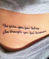Wear Your Heart On Sleeve With One Of These Meaningful Quote Tattoos