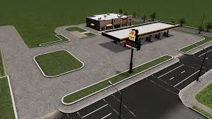 100 Loves Truck Stop Corporate Office Designing A Layout For A Travel CitiesSkylines