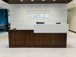 Anapol Weiss Reception Area Philadelphia Office Space Design
