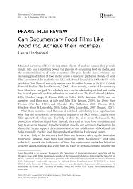 Tortilla Curtain Book Pdf by Can Documentary Food Films Like Food Inc Achieve Their Promise