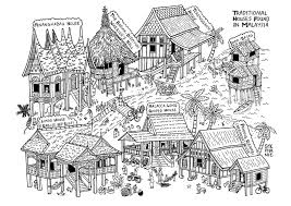 100 Houses In Malaysia Some Traditional Houses Found In Malaysia