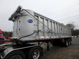 100 End Dump Truck 2009 Rhodes AS35753 Trailer For Sale Phillipston MA