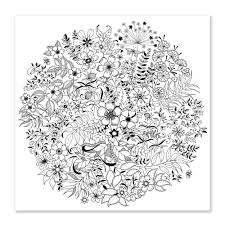 Secret Garden An Inky Treasure Hunt And Colouring Book At Coloring Pages