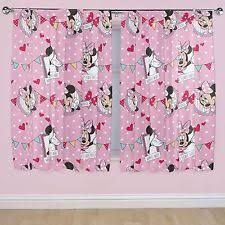 Minnie Mouse Bedroom Accessories Ireland by Minnie Mouse Curtains Ebay