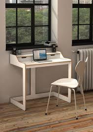 Small Computer Desk Ideas by Desk White Leather Chair Computer Desk Ideas For Small Spaces