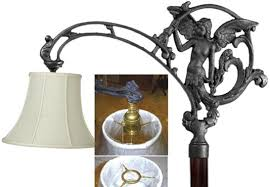 Lamp Harp Saddle Adapter by Uno Lamp Shades Clanagnew Decoration