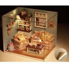 wohnzimmer schlafzimmer magideal 2 sets miniatur puppenhaus