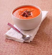 cuisiner les poivrons rouges velouté de poivrons rouges grillés au chèvre et citron confit