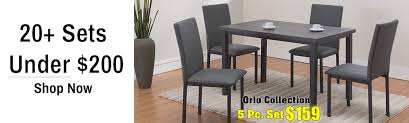 Vesper Dining Collection Cheap Room Sets In Houston