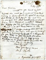 Irish Civil War Letters on the Eve of Execution – Moore Group