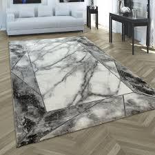 teppich schlafzimmer in marmor muster bordüre