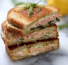 boursin cuisine recettes voici comment préparer un croque monsieur au saumon et au boursin
