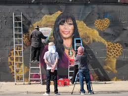 filming vh1 big ang show opening mural zoom media marketing