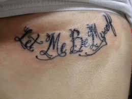 35 Inspirational Script Tattoos