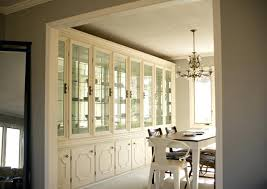 Built In China Cabinet Dining Room Hutch Inspiring Goodly For Good