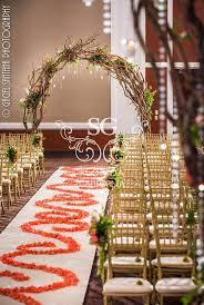 Suhaag Garden Indian Weddings Wedding Decorators Floral Mandap Branch Arches
