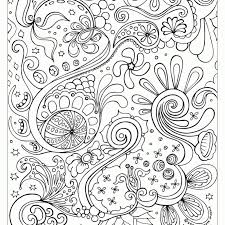 Paisley Design Coloring Pages To Print