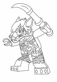 Lego Chima The Vicious Worriz Coloring Pages Batch