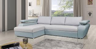 canape d angle bleu canapé d angle convertible view gris et bleu lecoindumeuble