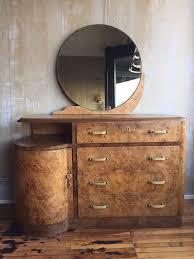 Antique Birdseye Maple Dresser With Mirror by Italian Art Deco Dresser With Mirror Sold Italian Art Mirror