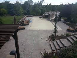Built Rite Sheds Utah by Paver Custom Steps Pergola In The Backyard With A Natural Gas
