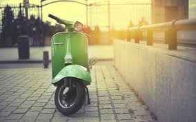 Cool Vintage Vespa Wallpaper