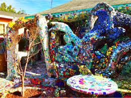 mosaic tile house venice california los angeles california the