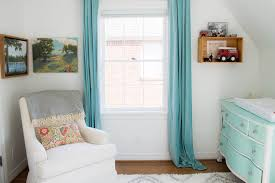 Ikea Sanela Curtains Dark Turquoise by Southmore Project