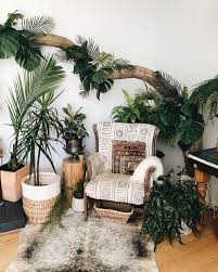 plant corner zimmerpflanzen dekor schlafzimmer pflanzen