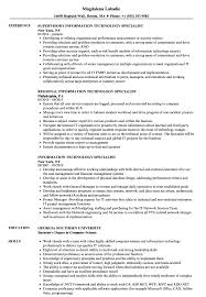 Information Technology Specialist Resume Samples   Velvet Jobs Cool Information And Facts For Your Best Call Center Resume Paul T Federal Sample 2 Entrylevel 10 Information Technology Resume Examples Cover Letter Life Planning Website Education Bureau Technology Objective Specialist Samples Velvet Jobs Fresh Graduates It Professional Jobsdb 12 Informational Interview Request Example Business Examples 2015 Professional Our Most Popular Rumes In Genius Statement For Hospality