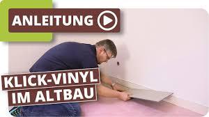 klick vinyl im altbau bodenbelag im badezimmer verlegen