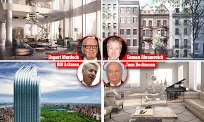 100 Rupert Murdoch Apartment Where The Worlds Richest Live In Manhattan Daily Mail Online