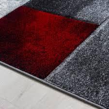 moderner designer konturenschnitt 3d wohnzimmer teppich hawaii rot