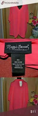 Maggie Barnes Plus Size Hot Pink Shirt NWT | Home, Hot Pink And ... Maggie Barnes Womens Blouse Black Purple Beaded Semi Sheer Plus Size Boatneck Maxi Bright Pink Unlined Wrinkle Fabric Floor Top 4x Mosaic Sparkly Bling Stretch 1x Lined Brown 34 Sleeve Career Right Fit Pant Curvy Catherines Poncho By 3x 26w 28w Cditioning Customer Support Dress Red Purple Jacket Blazer Appliques Button Down 7443 Best My Posh Picks Images On Pinterest Pockets Sweaters