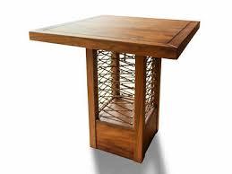 bartisch delphi esszimmermöbel teakholz design retrotisch