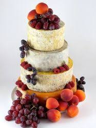 Cheese Wedding Cake Or Tower To Feed 85 125 Tessa